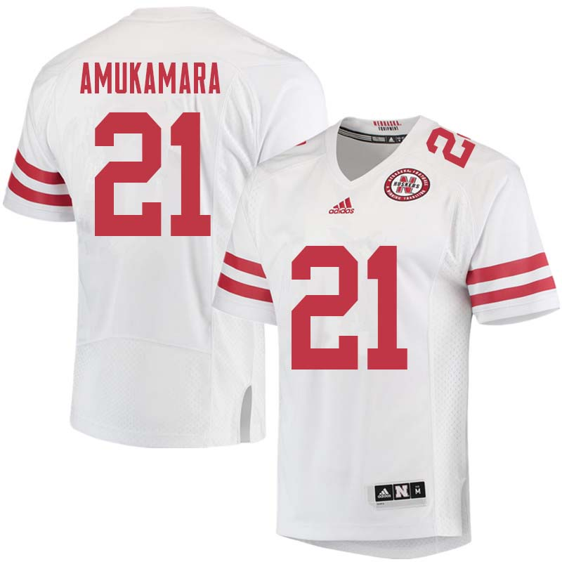 Men #21 Prince Amukamara Nebraska Cornhuskers College Football Jerseys Sale-White