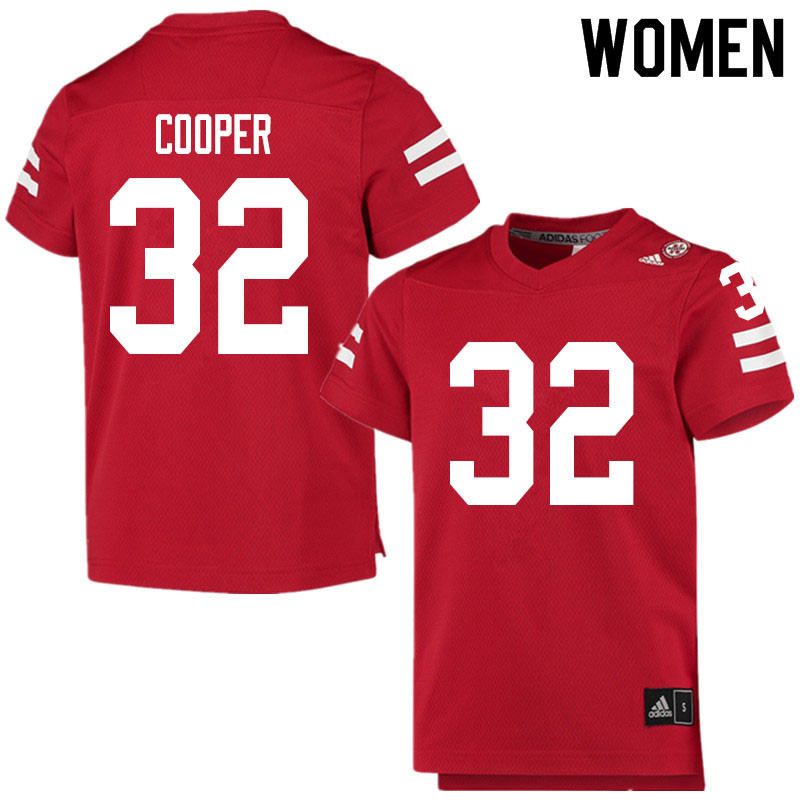 Women #32 Niko Cooper Nebraska Cornhuskers College Football Jerseys Sale-Scarlet