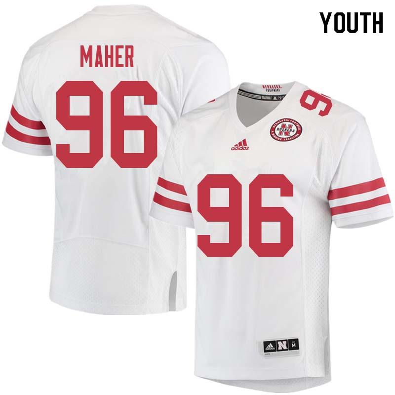 size 40 587f1 f6fd4 Women #96 Brett Maher Nebraska Cornhuskers College Football ...