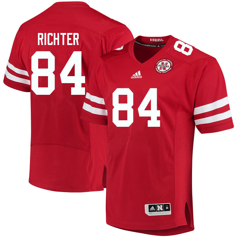 Youth #84 Eli Richter Nebraska Cornhuskers College Football Jerseys Sale-Red