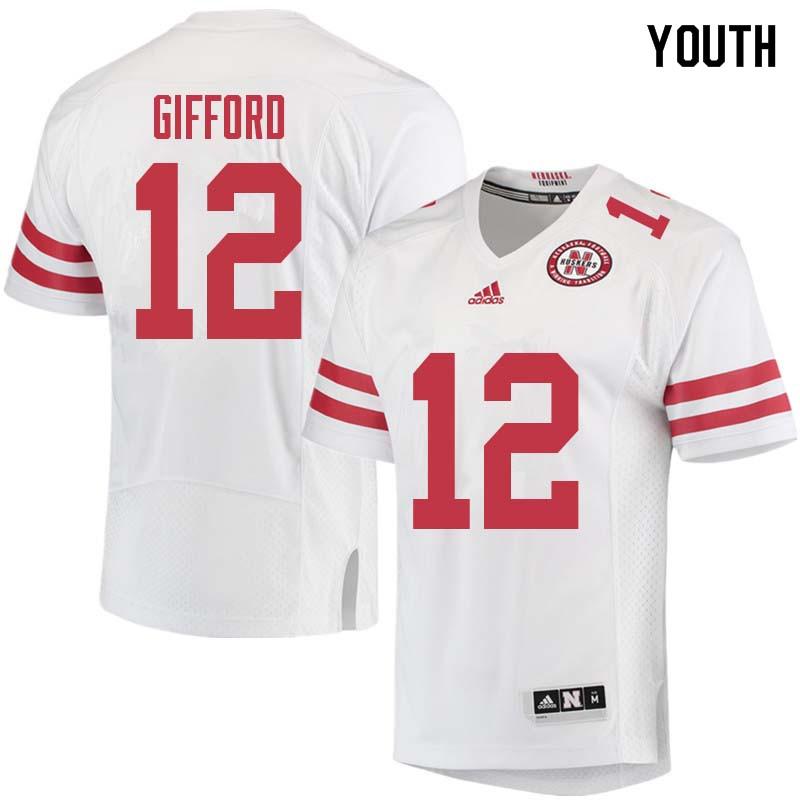 buy online 3a74e f2cb7 Luke Gifford Jersey : NCAA Nebraska Cornhuskers College ...